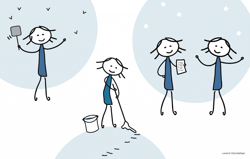 Visual | Creëer jouw bucketlist | tekening | illustratie door Erica Verlaan