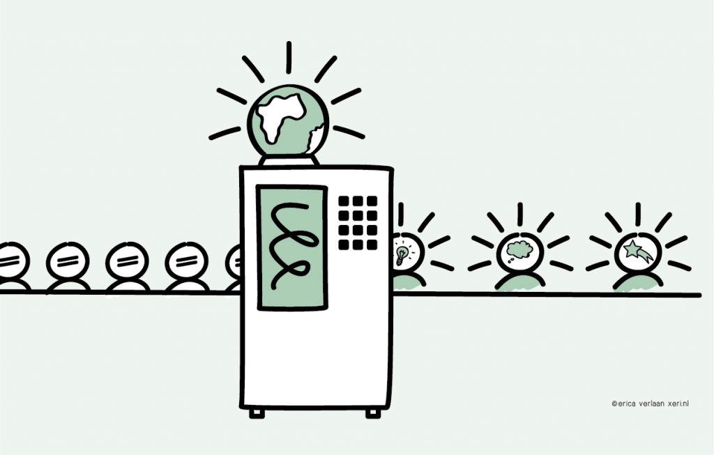 Effectief communiceren | Illustratie | Visual | Denkbeeld | Beeldtaal | Erica Verlaan