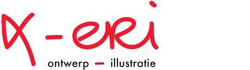logo xeri ontwerp en illustratie