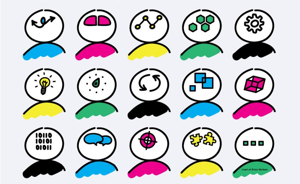 Visual 6 | Leren Leren Methode 1 | illustratie | drawing | Erica Verlaan