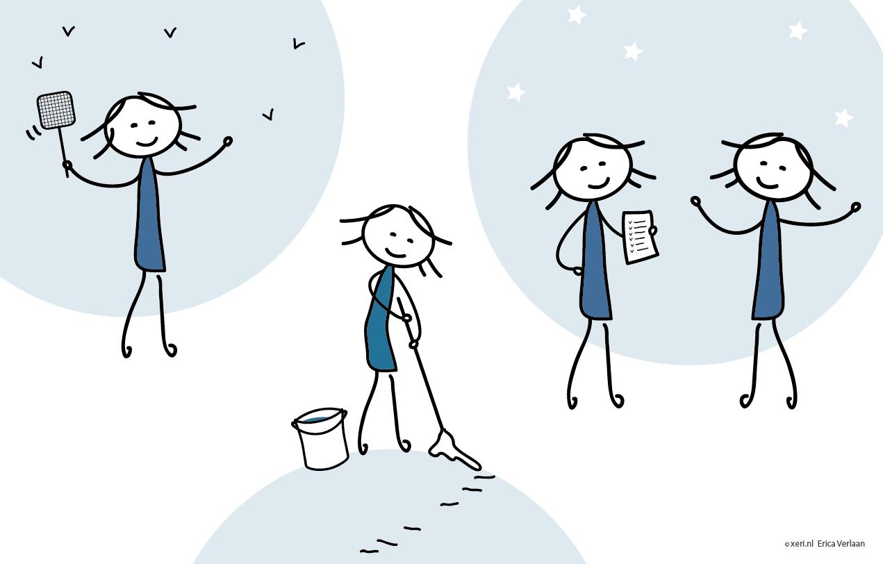 Visual   Creëer jouw bucketlist   tekening   illustratie door Erica Verlaan
